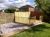 Decking and fencing, 10% off till the end of june