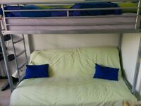 JAY-BE Bunk Bed with Futon Mattress (optional)