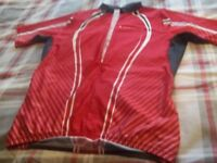 Bundle of cycling clothes