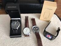 2x breitling Watch, 1 sekonda new, 1 smart watch swap Rc stuff