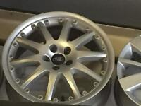 """One ford alloy wheel for sale only got one 18"""" £60 call 07860431401"""