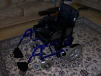 Wheelchair electric self propelled Wheeltech Energi 3 years old little used great condition