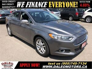 2013 Ford Fusion SE| BACKUP CAM|MEMORY/HEATED SEATS| SUNROOF