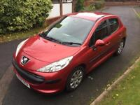 Very low mileage Peugot 207