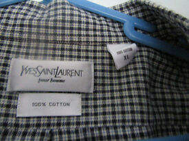mens xl yvessant laurent shirt in mint con