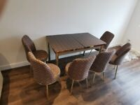 ✅⚡ Branded and Imported Turkish Dinning table and chairs for sale in UK ⚡with cash on delivery