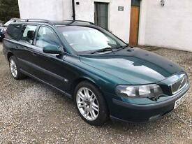 Volvo V70 spares or repair 2002 Petrol 2.4l