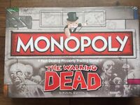 MONOPOLY - THE WALKING DEAD MONOPOLY GAME