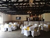 Clean/spacious function hall with scenic views to hire for birthdays/weddings/wakes etc.