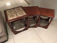 G Plan Astro Teak Nest of Tables
