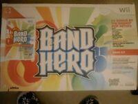 Wii Band Hero Kit & Game