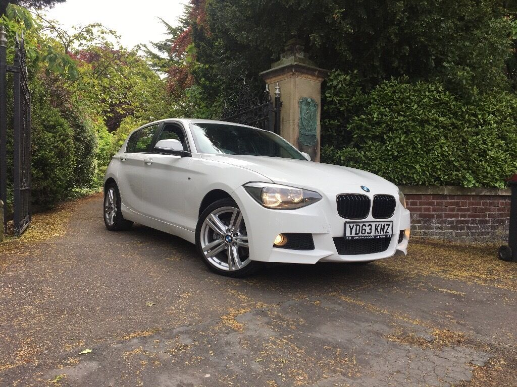 bmw 116d 29k millage 2014 f20 m sport replica one series. Black Bedroom Furniture Sets. Home Design Ideas