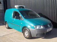 2007 Volkswagen Caddy 2.0 SDI Refrigerated Van Low Mileage