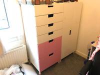 Ikea Kids Wardrobe and Drawers