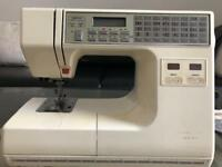Memory craft embroidery sewing machine