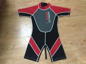 Shorty wetsuit 6 years old