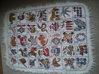 Handmade rug/mat/wall decoration £30