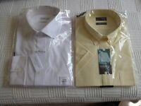 Two men' shirts