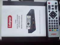 Labgear FV400 RF Modulator Digital Freeview Set Top Box only £9