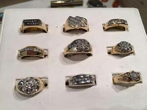 ** MENS DIAMOND RINGS!! ** NOTHING OVER $800!!