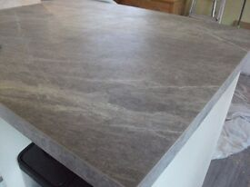 worktop for sale in grey marble laminate
