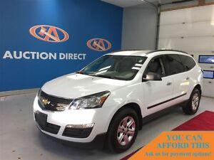 2016 Chevrolet Traverse LS AWD! 8 PASSENGER! FINANCE NOW!