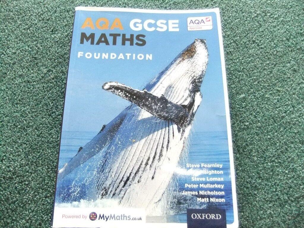 AQA GCSE Maths Foundation book powered by mymaths | in Worthing ...