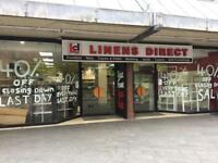 Need Shop Windows Cleaned. Inside out. One off.