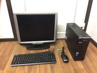 Acer Aspire X3995 Computer PC Setup with 19 inch Monitor (Intel i3, 16GB RAM, 500GB HD)