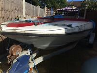Speed Boat for sale with an excellent trailer & V6 Essex Engine