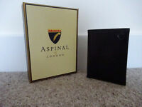 Brand NEW Aspinal of London Double Credit Card Case with Notes Pocket