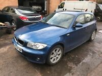 BMW 116i 1 SERIES 2005 Timing chain Sliped bent valves.Without number plate.
