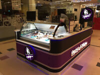 Ice cream/ Milkshake kiosk in Busy shopping centre