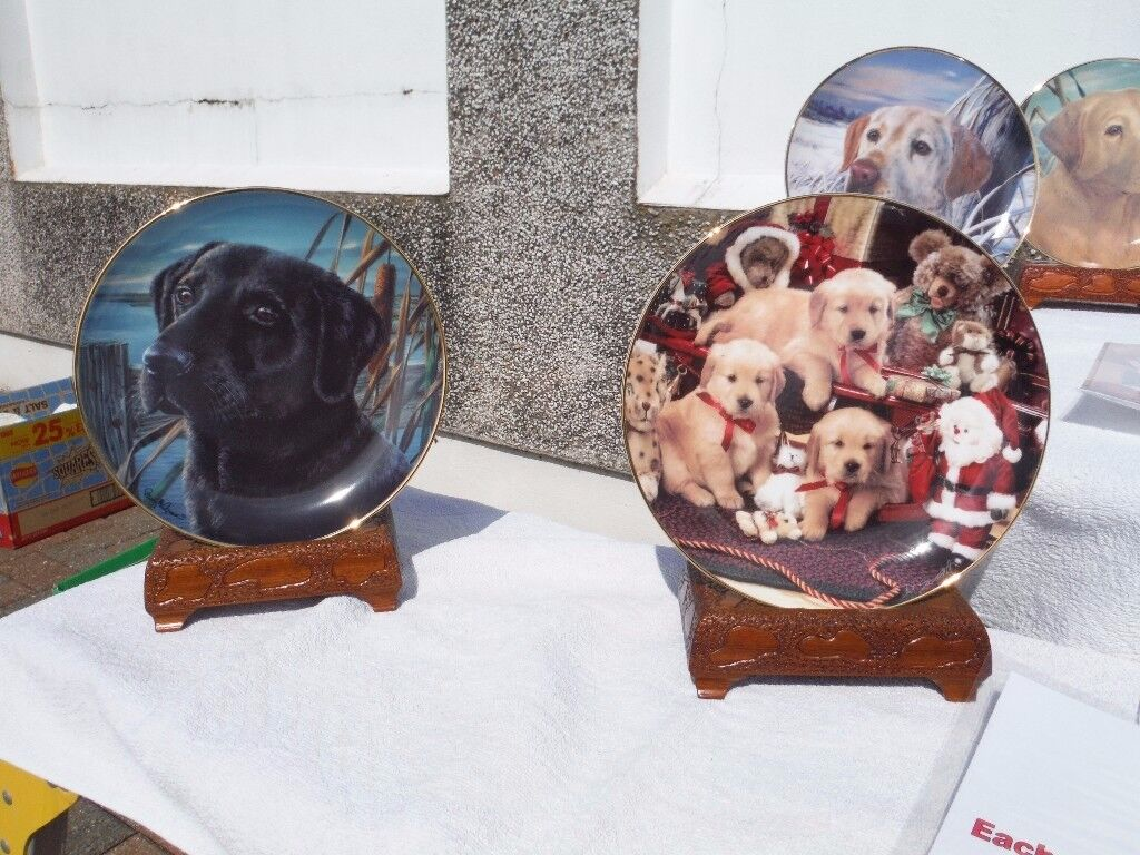 Franklin Mint Porcelain Collectors Plates (with certification)