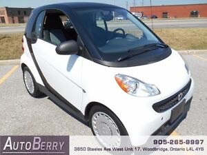 2013 Smart fortwo Pure ** CERT ETEST ACCIDENT FREE ** $6,499