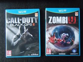 Nintendo Wii U games - 'Call of Duty Black Ops II' and 'Zombi U'