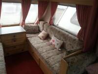 Fleetwood Countryside 4 berth caravan. 1998 model with end shower/toilet.