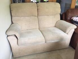 A 2 seater and 3 seater settee