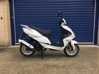 2016 DIRECT BIKES COBRA 125cc SCOOTER , HPI CLEAR , LOW MILES