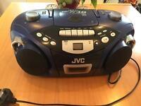 JVC cd portable system