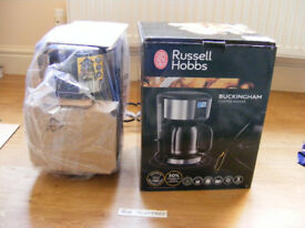 Russell Hobbs Buckingham coffee maker. Unused