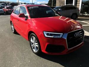 2016 Audi Q3 MANAGERS SPECIAL! LUXURY ALL WHEEL DRIVE!