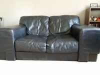 Used leather sofas
