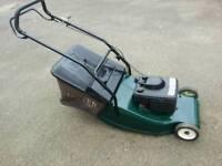 Hayter harrier 48 petrol selfpropelled lawnmower in good working order