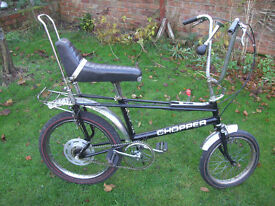 ORIGINAL RALEIGH CHOPPER MKII ONE OF MANY QUALITY BICYCLES FOR SALE
