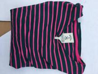 Woman's size 14 Joules Top (pink and navy)Reduced to sell