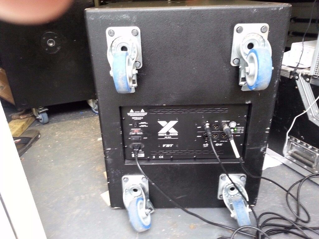 FBT X SUB IN EXCELLENT USED CONDITION
