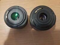 2 canon lens! Perfect condition!