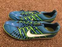 Nike track and field trainer spikes blue size 12