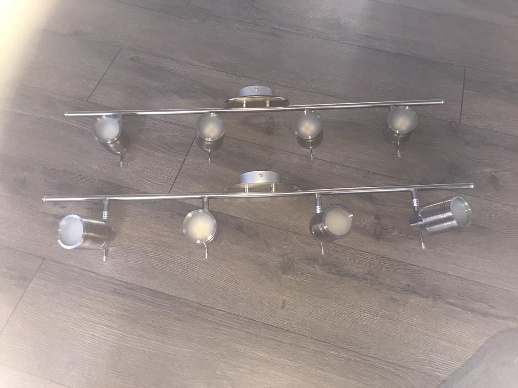 kitchen ceiling spot lighting. Kitchen/Bathroom Multi Position Spot Lights X 2 Kitchen Ceiling Lighting